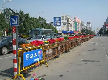 交通安全铝合金花箱护栏网