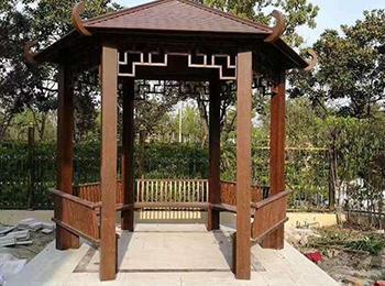 园林铝合金凉亭定制安装