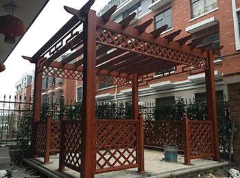 重庆铝合金葡萄架